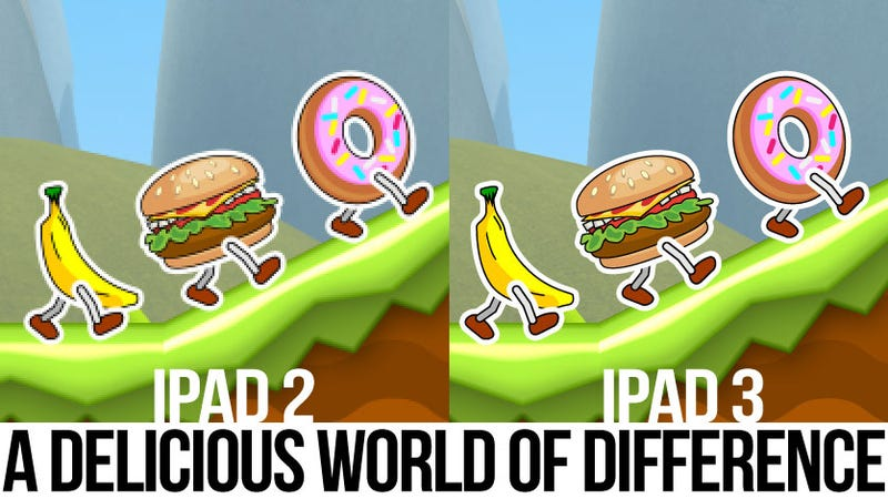 Illustration for article titled iPad 3's Upgraded Display Will Be a World of Difference for Games