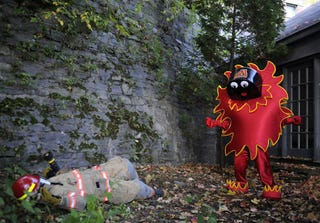 Illustration for article titled Adirondack Flames Snuff Out Scorch, The Firefighter-Murdering Mascot