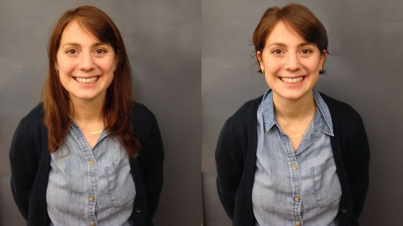 Illustration for article titled Police Release Haircut-Progressed Photo Of Missing Woman