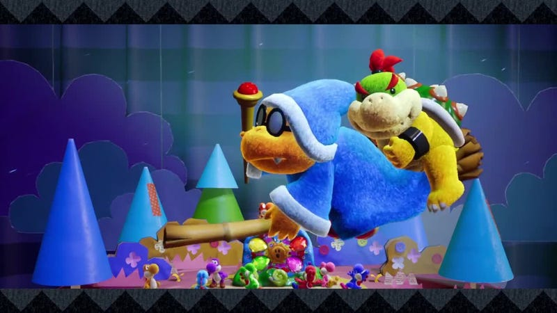 Is Kamek just Bowser Jr.'s babysitter?