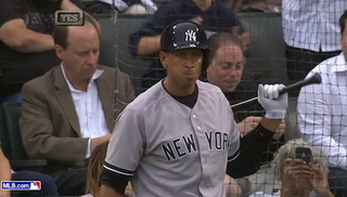 Illustration for article titled Here's Chicago Booing A-Rod In His First At-Bat