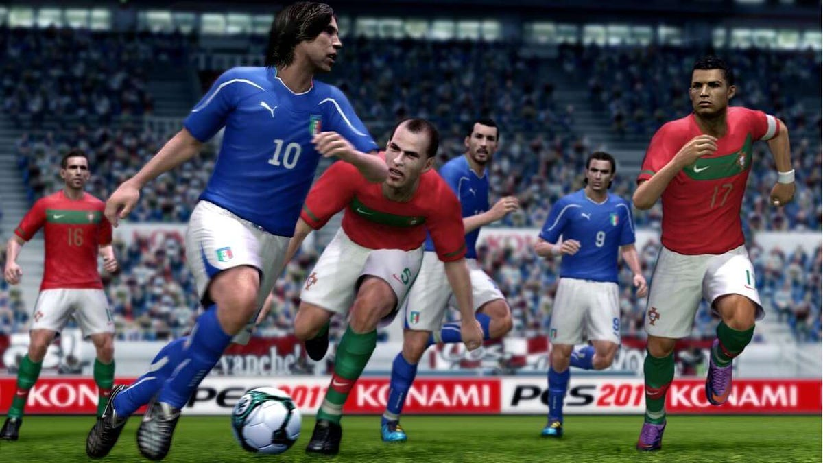 The FIFA vs PES Rivalry - A Match Report