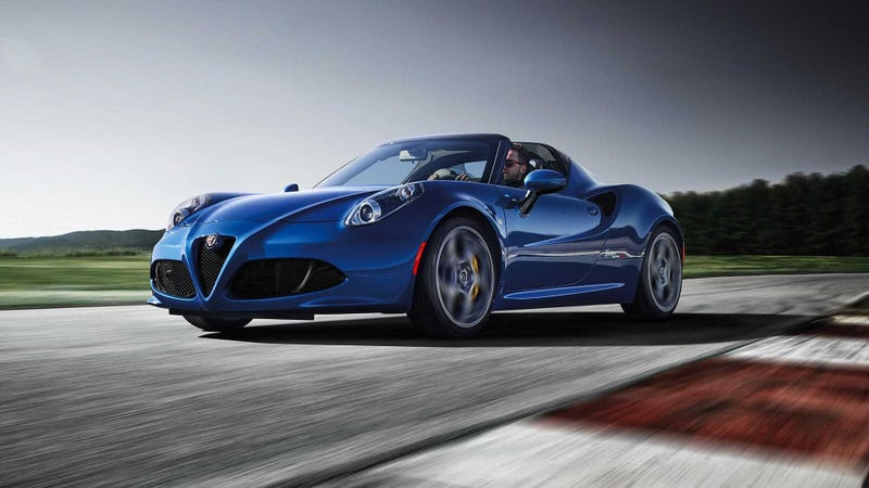Illustration for article titled A Reminder the Alfa Romeo 4C Spider Still Exists and You Should Buy One