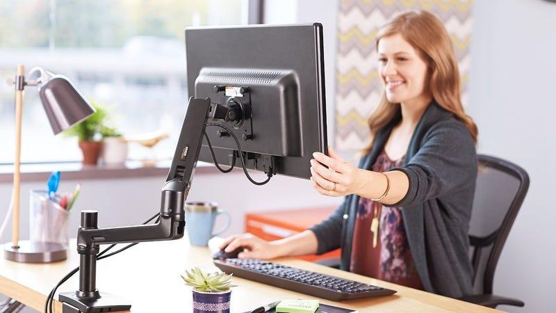 AmazonBasics Articulating Monitor Arm | $81 | Amazon