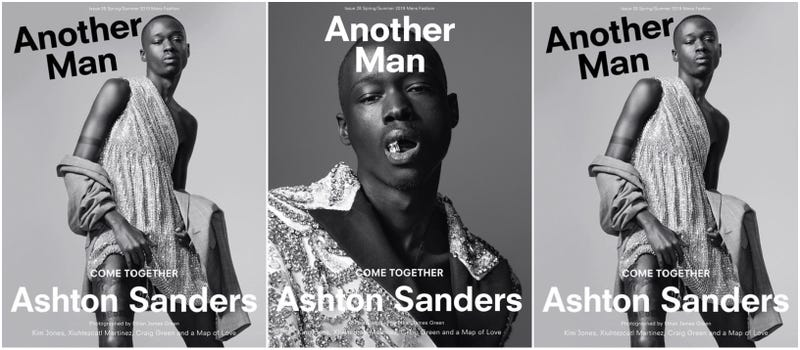Illustration for article titled From Moonlight to Magazine Covers, Ashton Sanders Isn't Just Another Man