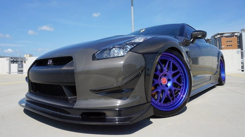 Illustration for article titled At $59,995, Could This Modded 2009 Nissan GT-R Get You To Say 'Go-Go-Godzilla?'