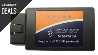Illustration for article titled Deals: $7 Wireless OBD II Scanner, Complete Maintenance Set, Gas Can