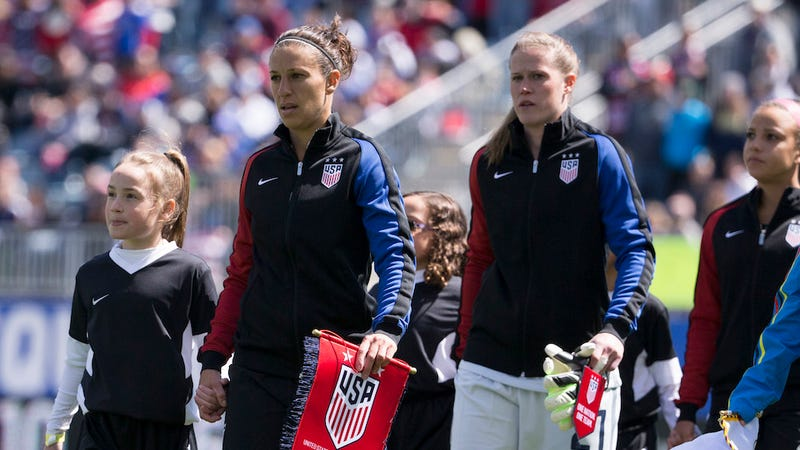 Illustration for article titled Judge Rules That U.S. Women's Soccer Team Is Not Allowed to Strike Before the Olympics