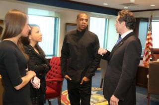 Jay Z and New York Gov. Andrew CuomoMelissa DeRosa Twitter