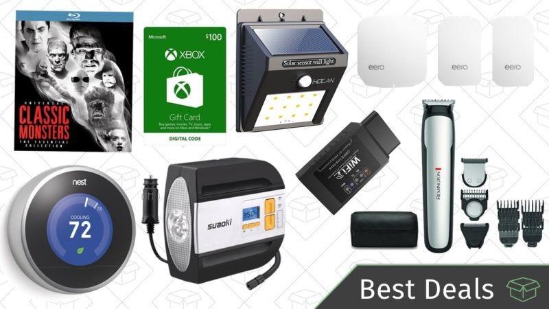 Illustration for article titled Las mejores ofertas de este viernes: Sistema Wi-Fi, termostato Nest, maquinilla Remington y más