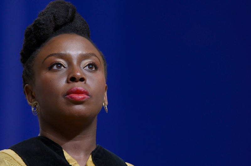Chimamanda Ngozi Adichie receives an honorary doctorate of Humane Letters from Johns Hopkins University on May 18, 2016, in Baltimore.Leigh Vogel/Getty Images