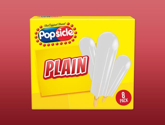 Popsicle Reintroduces Beloved 'Plain' Flavor
