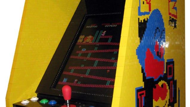 Lego Arcade Machine Overloads My Nerd Senses