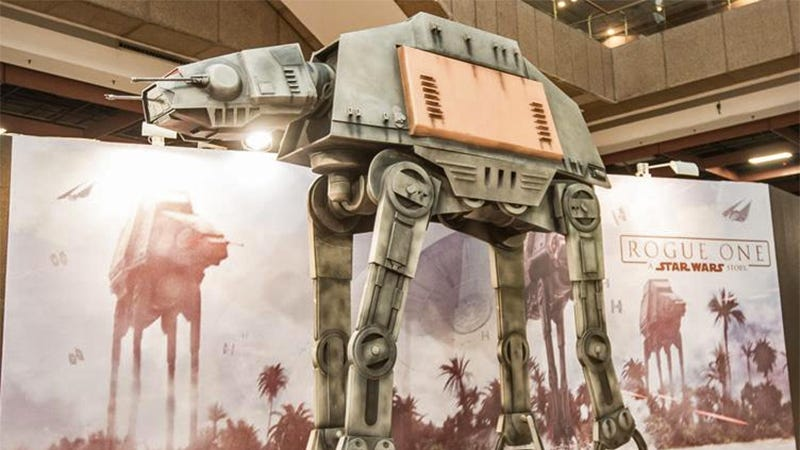 Illustration for article titled This 10-Foot-Tall AT-ACT Is the Most Colossal, Least Practical Star Wars Collectible Ever