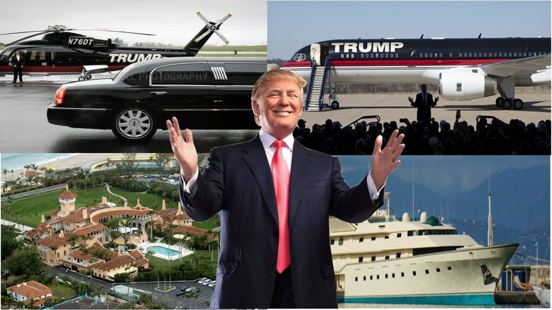 Illustration for article titled 2017 Trump success promise! Future home/ car list (UPDATING)