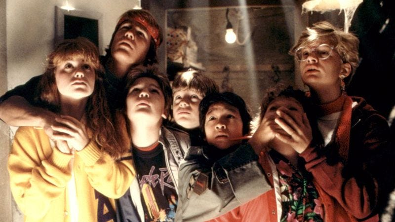"Illustration for article titled The Goonies is becoming an ""immersive theater"" experience"