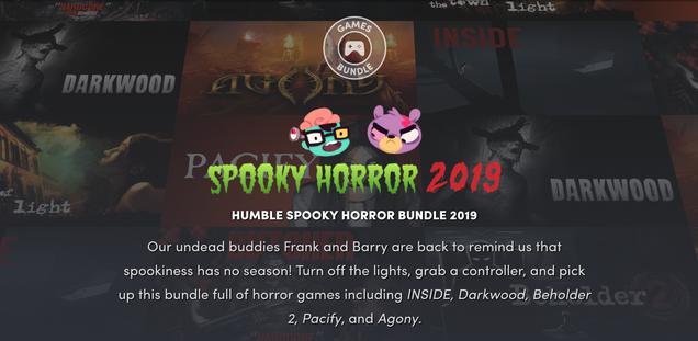 Humble Spooky Bundle | Humble