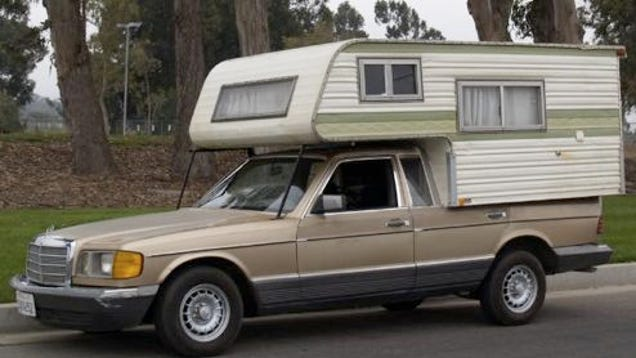 Mercedes 300sd Amino Camper Just In Time For The Coming