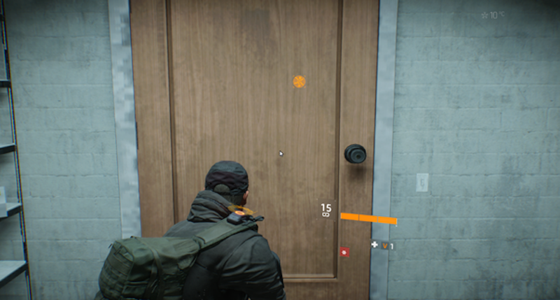 "Pictured here: a ""weird-sized"" door from The Division. Image shared with us by one of the game's producers. Size is just one of the things that can be weird about the many doors Ubisoft has fixed in the game."