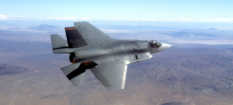 The Trillion Dollar F-35 Won't Even Be Able to Shoot Its Gun Until 2019