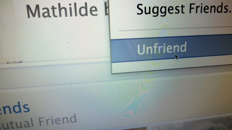 How To Deal With Someone Unfriending You