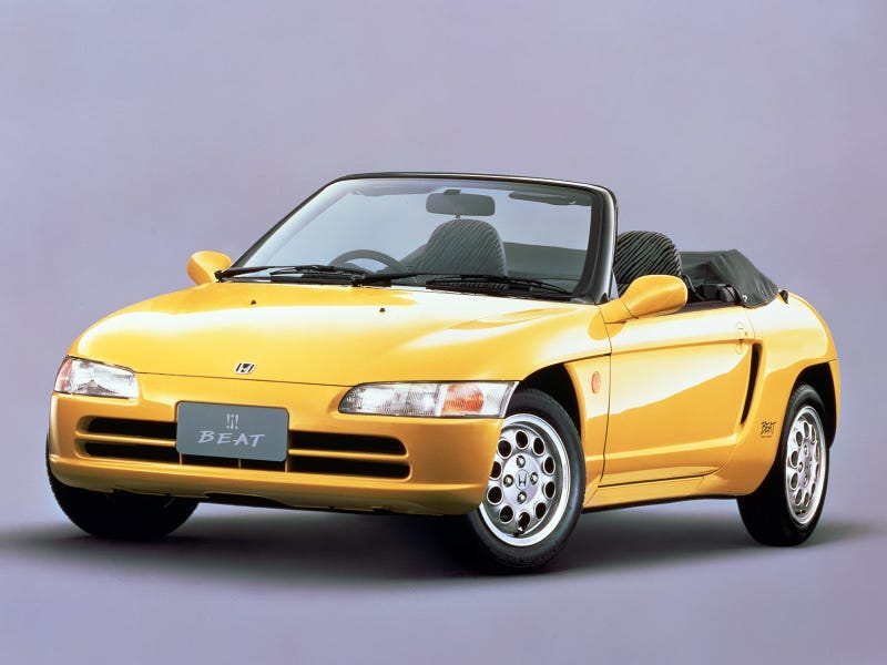 Illustration for article titled Cars that time forgot - Honda Beat