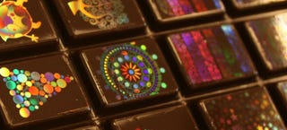 Illustration for article titled Swiss wizards can now create holograms using just chocolate