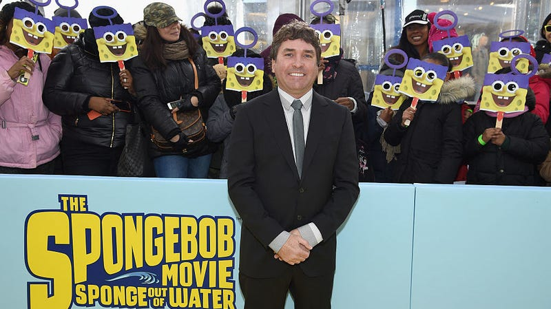 Image result for Stephen Hillenburg spongebob