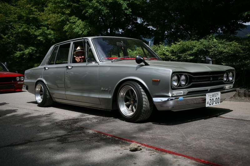 Illustration for article titled This is a real Hakosuka GTR.