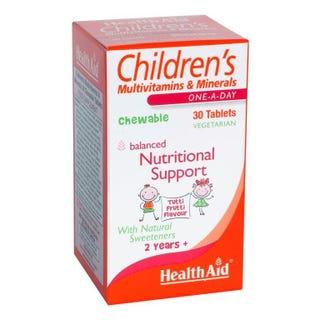 Illustration for article titled Best Vitamins For Children