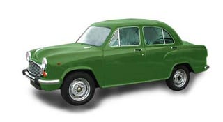 Illustration for article titled Toughness, Roominess, Serves The Country: The Hindustan Motors Ambassador