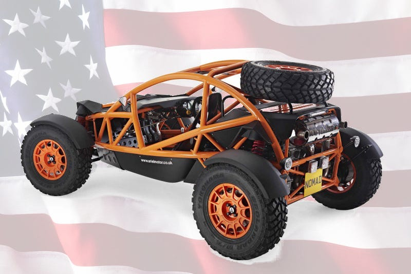 Illustration for article titled The Awesome Ariel Nomad Is Finally Available In America