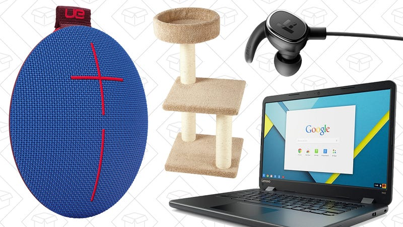 Illustration for article titled Saturday's Best Deals: Chromebook, Cat Tree, Guillermo del Toro, and More