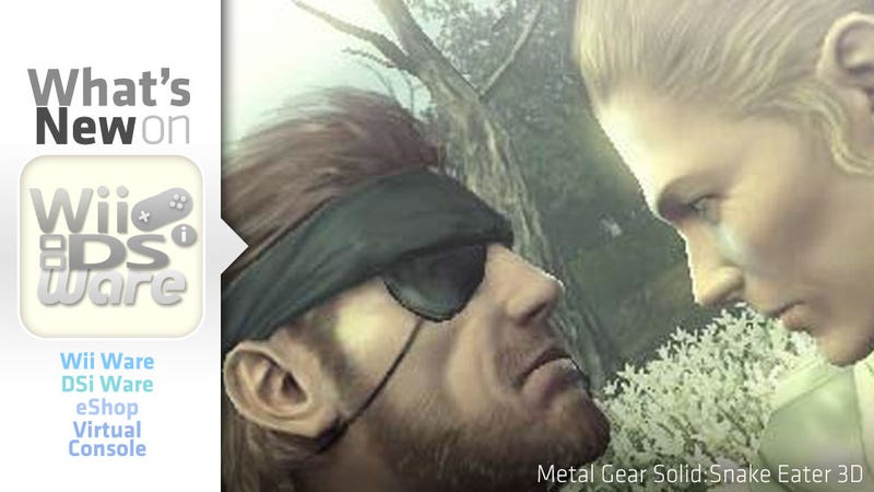 Illustration for article titled Your First Bite of Metal Gear Solid: Snake Eater 3D is Free Today