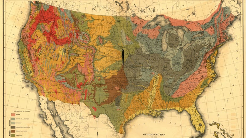 Illustration for article titled Beautiful, hi-res census maps provide fascinating snapshots of 1870s America