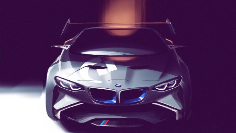 Illustration for article titled BMW Vision Gran Turismo: A Video Game-Only M1 Successor