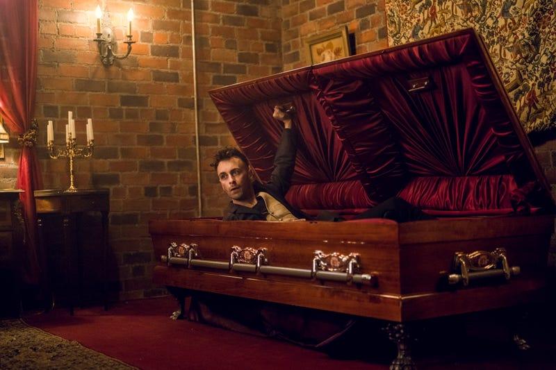 Joseph Gilgun, coffin