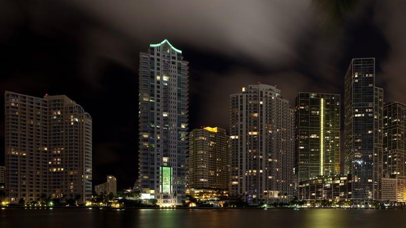 Rascacielos el Brickell, el distrito financiero de Miami. Imagen: Jimmy Baikovicius / Flickr