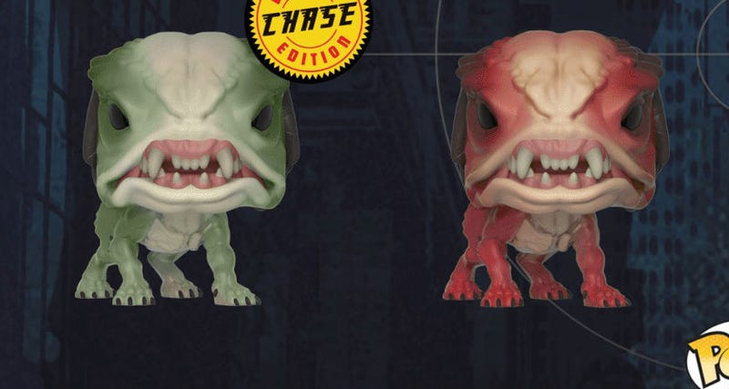 A crop of the Predator Hounds from Funko.