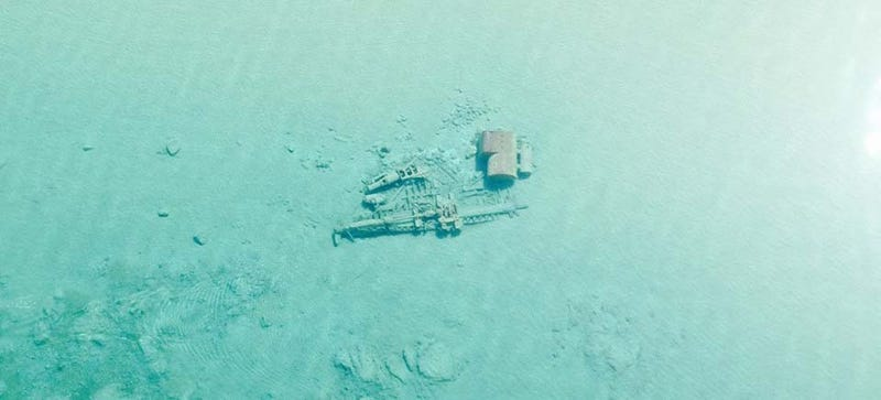 Illustration for article titled Old Shipwrecks Are Reappearing In Lake Michigan's Unusually Clear Water