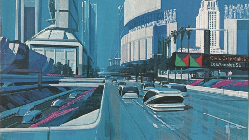Illustration for article titled The Crazy And Crazily Accurate Predictions Of 2013 Cars From 25 Years Ago