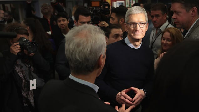 Tim Cook on iPhone Sales: We Need to Talk About Facebook