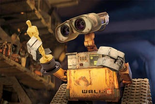 Illustration for article titled Wall-E Wins Oscar For Best Animated Feature