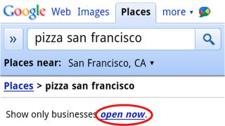 Illustration for article titled Google Mobile Now Lets You Filter Out Closed Businesses