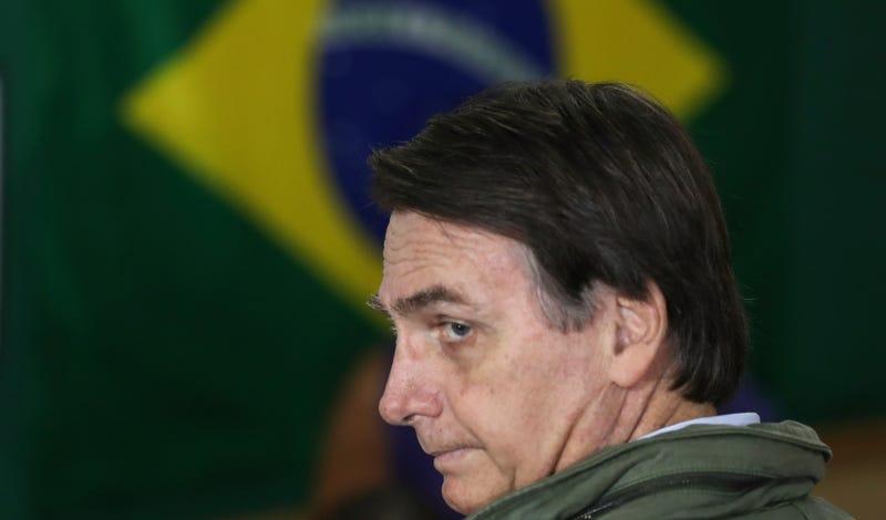 Jair Bolsonaro, Brazil's president-elect.