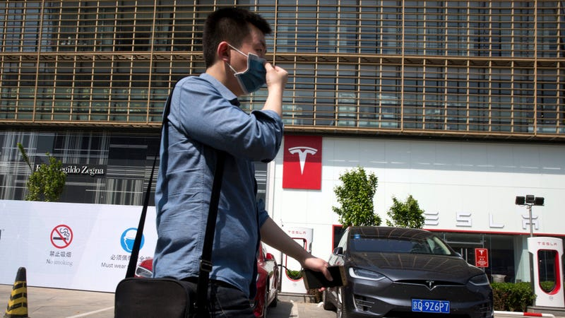 Tesla strikes deal to open electric vehicle  factory in Shanghai