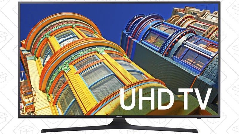 "Samsung 55"" 4K TV, $550"