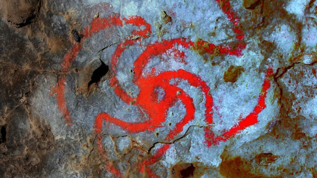 Is This Trippy Cave Painting the Result of a Hallucination—or Something Way More Obvious?