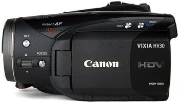 Illustration for article titled Canon HV30 Camcorder Gets Reviewed by CamcorderInfo