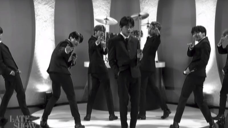 BTS channels The Beatles in a charismatic performance on The